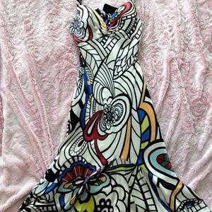 Mary L. Geometric Dress